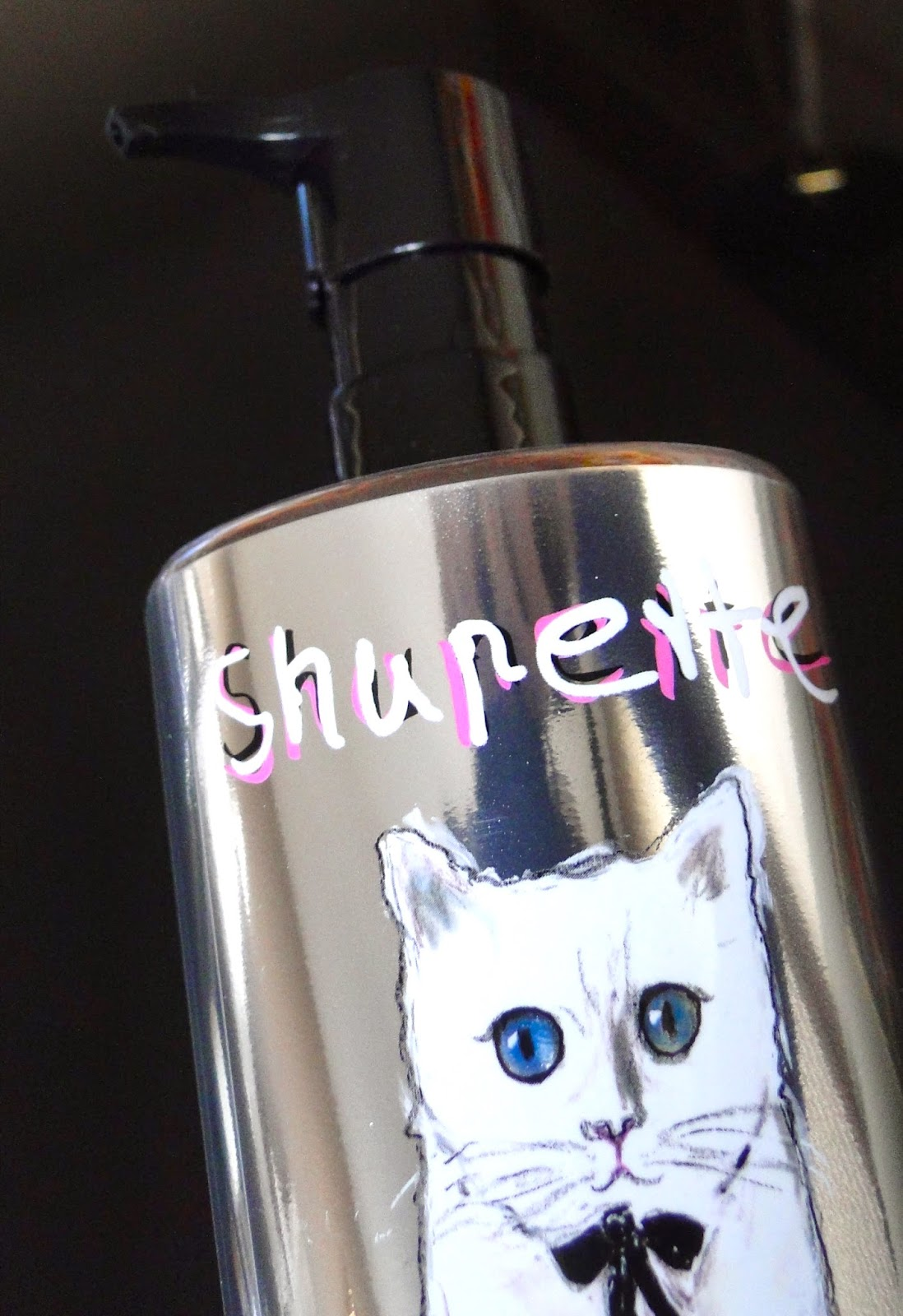 Shupette Karl Lagerfed Shu Uemura Make Up Collection
