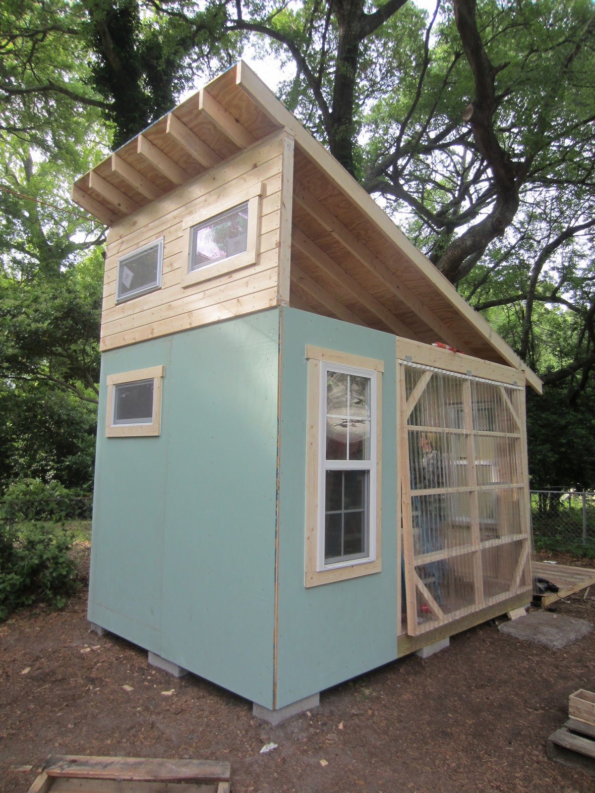 Relaxshackscom Tiny House Building Workshop in Wilmington NC