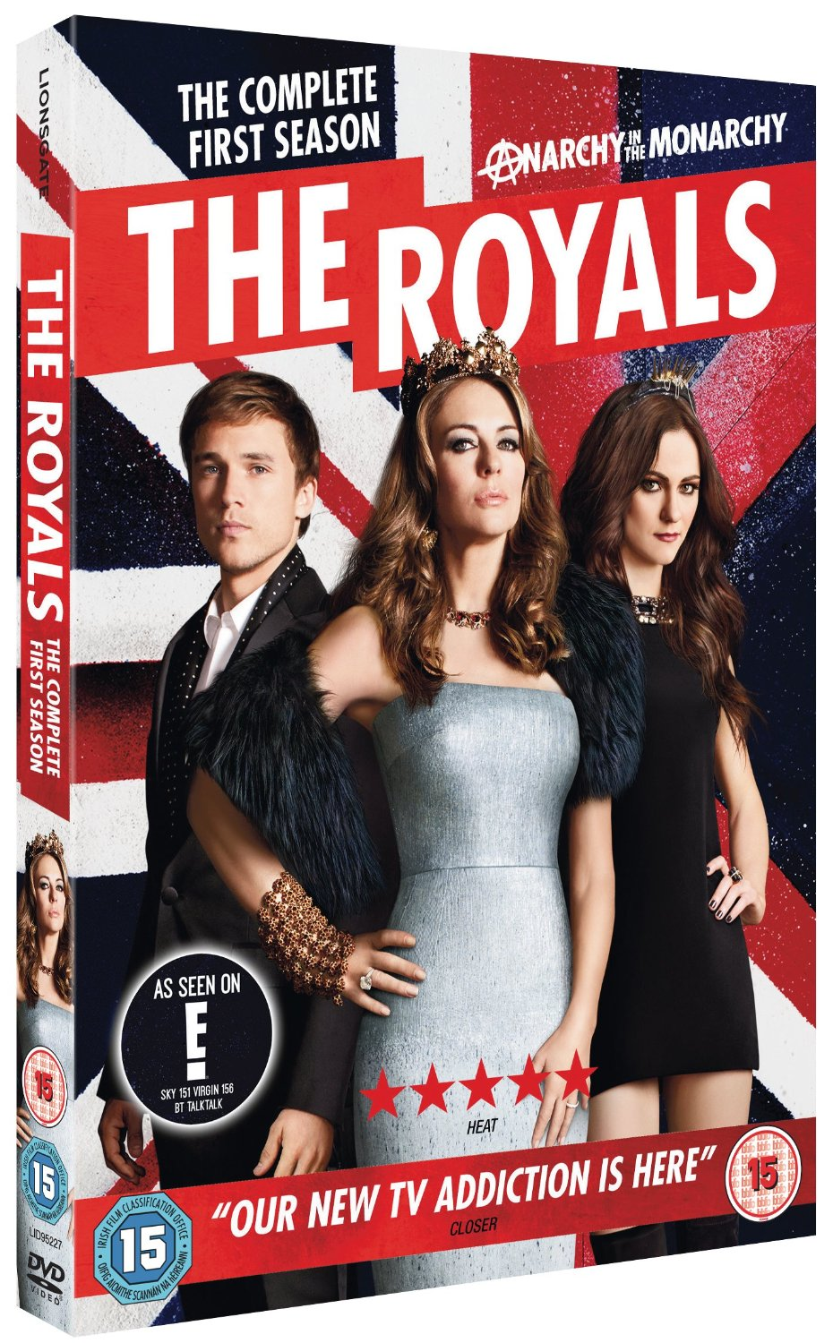 THE ROYALS SEASON 1 .. ON DVD JULY 6TH ..