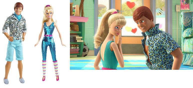 Toy Story Barbie And Ken