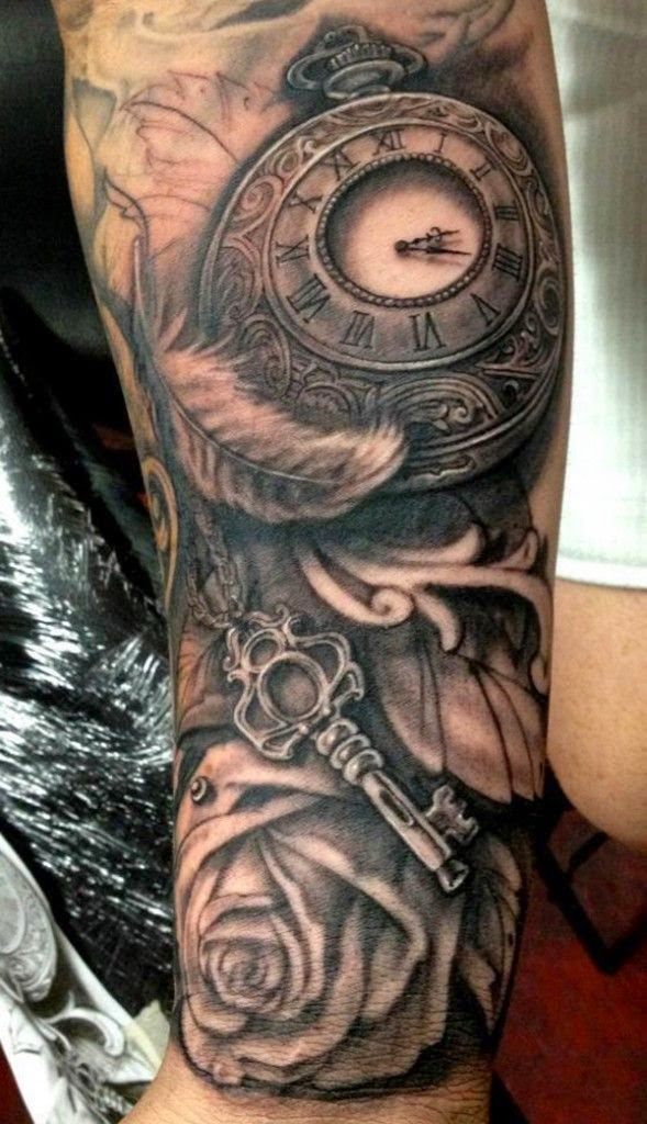 ♥ ♫ ♥  Amazing Watch Tattoo Designs   Cuded ♥ ♫ ♥