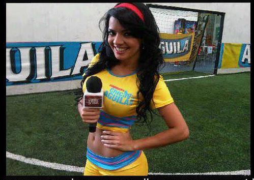 Elianis Garrido chica Aguila protagonistas de nuestra tele 2012