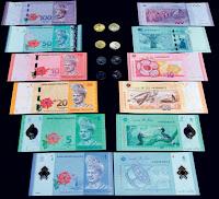 duit, kertas, baru, malaysia