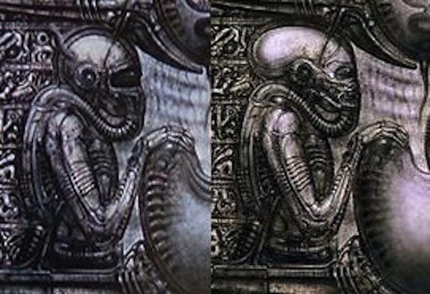 Alien predalien ad infinitum january 2014 for Prometheus xenomorph mural