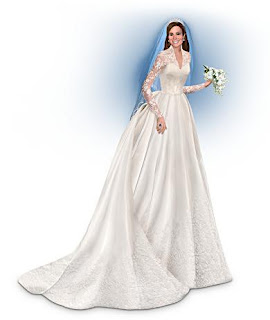 The Royal Kate Middleton Catherine Bride Figurine