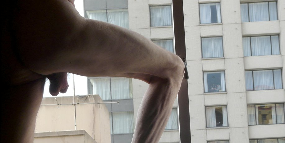 Watch my window nude preview 9