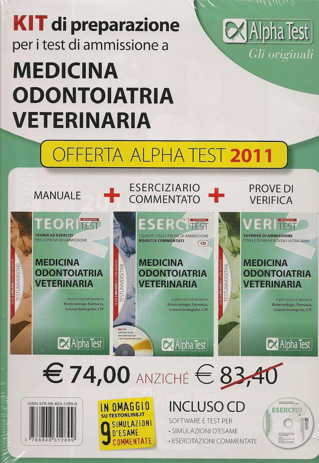 Libreria l indice leggere per essere liberi offerta for Test di medicina simulazione