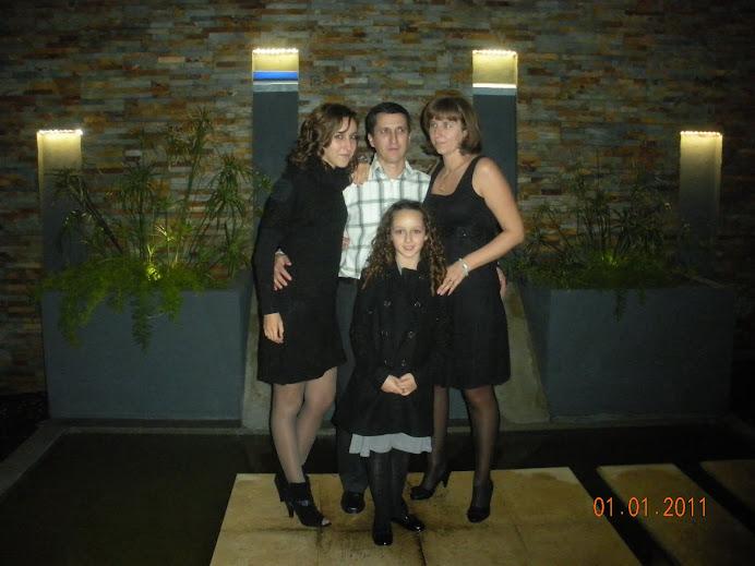 Eu e a minha familia
