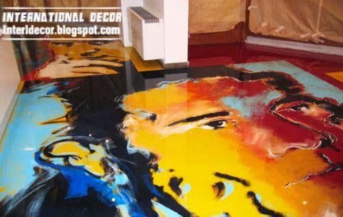 3d floor murals and 3d self leveling floors unusual floor for Floor 3d painting