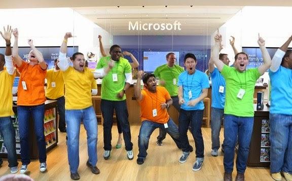 Microsoft PHK 2.100 Karyawan