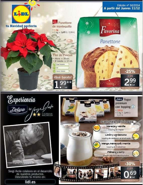 ofertas de Lidl Peninsula del 11-12-2014