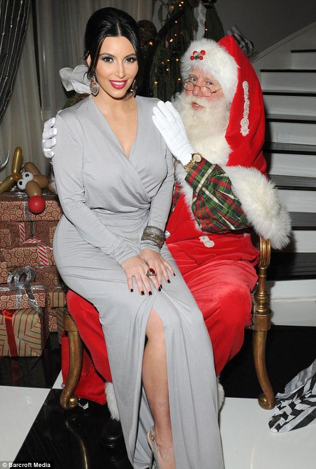 Please Santa can I have a speedy divorce? Inside Kim Kardashian\'s ...