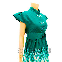 DB3013 - Model Baju Dress Batik Modern Terbaru 2013