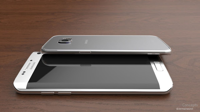 Samsung Galaxy S7 Edge Concept by Jermaine Smit