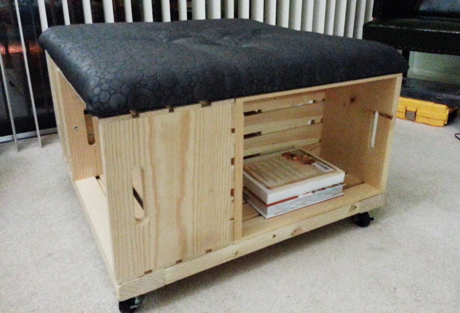 Cedar Ottoman Plans ~ Diy storage ottoman plans wood project ideas