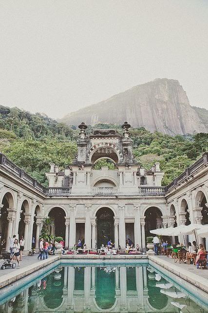 Lage Park, Rio de Janeiro, Brazil.