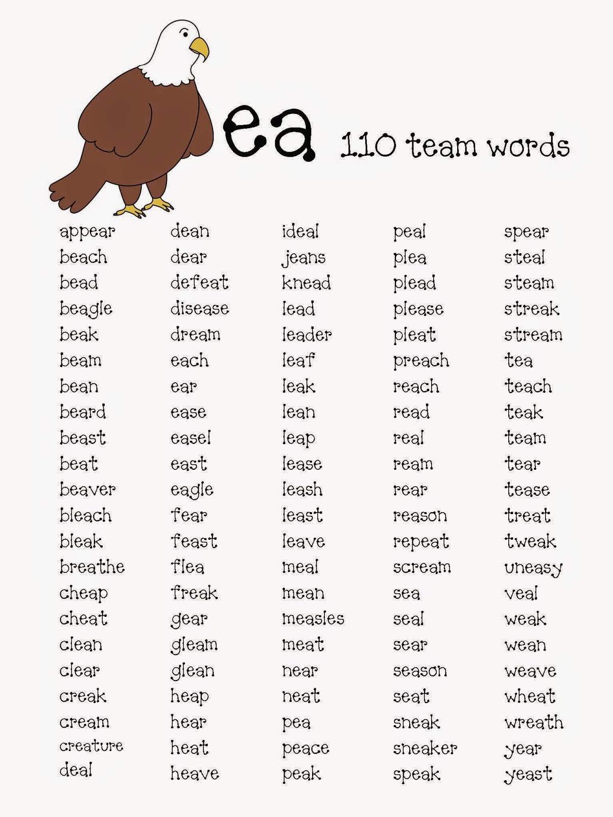 Classroom Freebies When 2 Vowels Go Walking Packet – Vowel Teams Worksheets