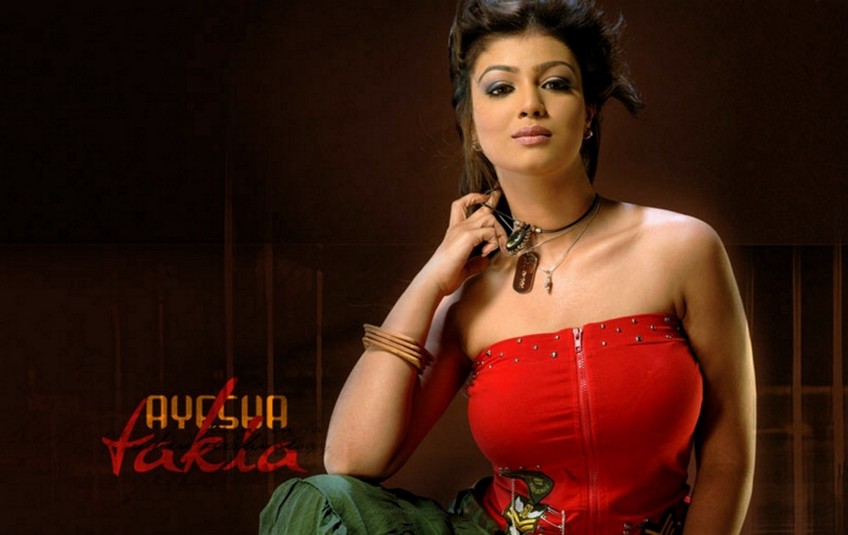 Cock boobs Ayesha takia