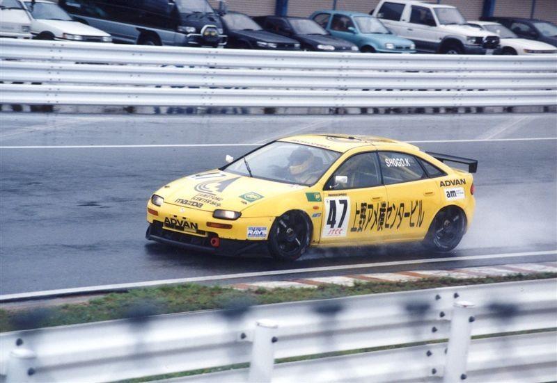 Mazda 323F BA, CB, Japanese Touring Car Championship, JTCC, racing, wyścigi, japońska motoryzacja, sportowe