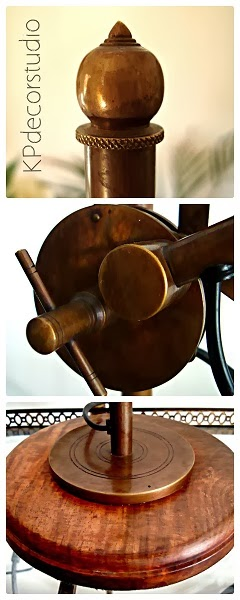 Flexos de mesa antiguos articulados con muelle