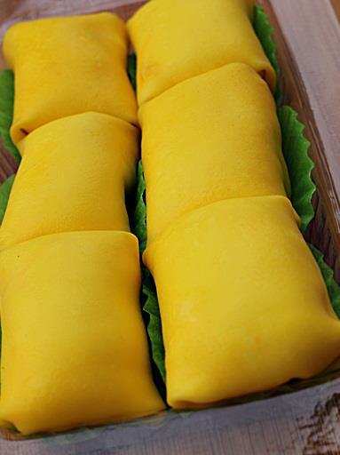 Cara Membuat Durian Crepe
