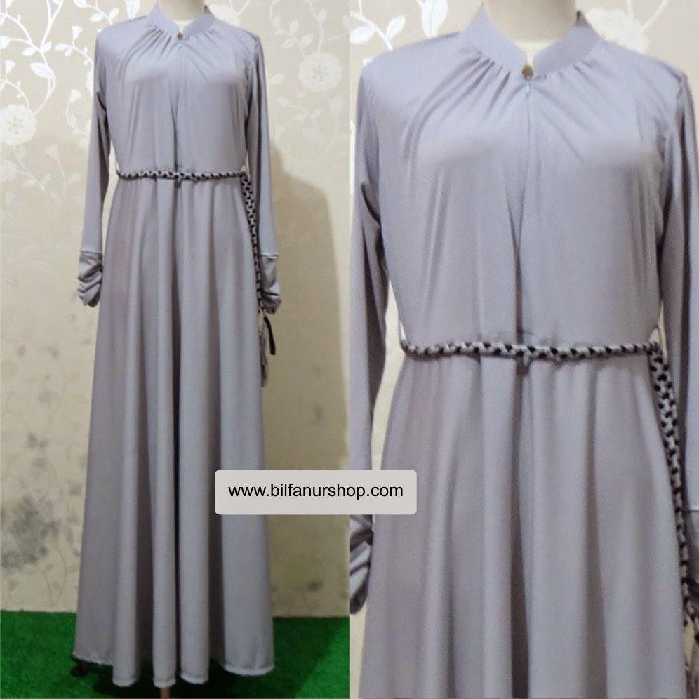 Wide dress light purple