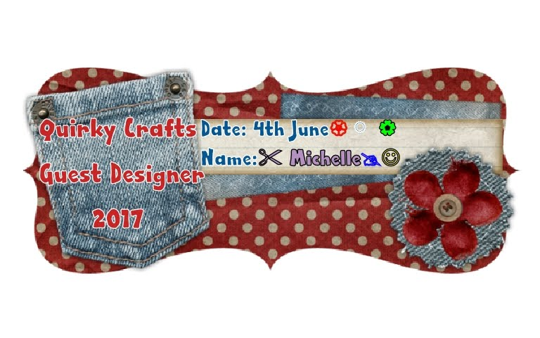 Quirky Crafts Guest Designer 2017