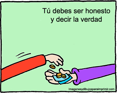 VALORES DEL COLEGIO INTEC HONESTIDAD
