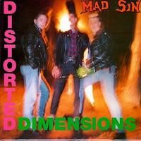Portada de Distorted Dimensions de Mad Sin (1990)