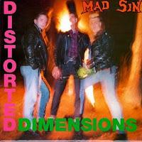 Portada de Distorted Dimensions de Mad Sin (1990)