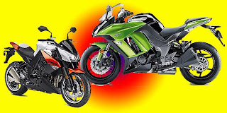 Foto gambar motor kawasaki ninja 1000 terbaru