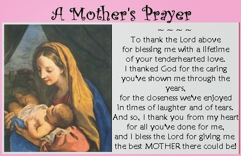 Top 5 Mother's Day Prayers 2014
