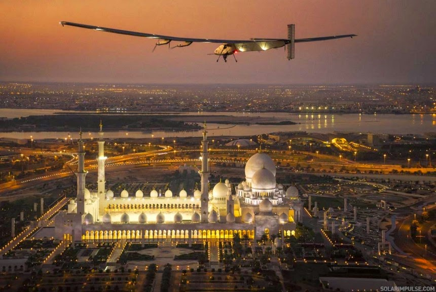 Solar Impulse 2 will land at Ahmedabad on 10 March 2015