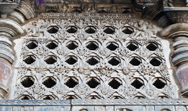 Ornate perforated Screen