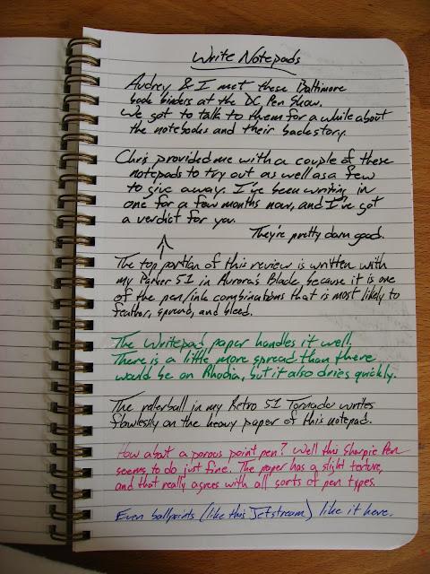 Write Notepads Notebook