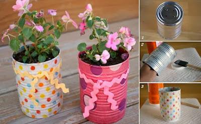 Mille idee casa vasi per fiori fai da te for Mille idee per la casa
