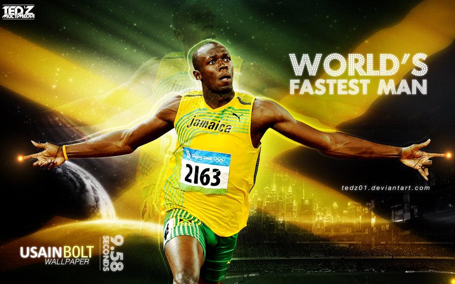 2 Usain Bolt Wallpaper