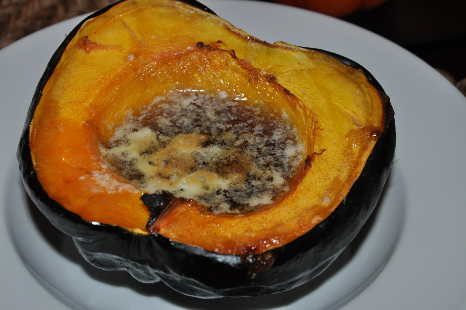 how to serve baked squash