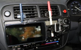 3 Cara Bikin Pemegang HP di Dashboard Mobil dgn Klip Kertas