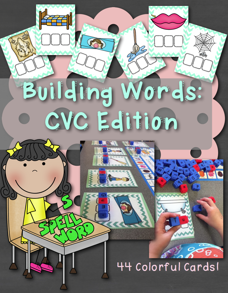 http://www.teacherspayteachers.com/Product/Building-Words-CVC-Edition-1138644