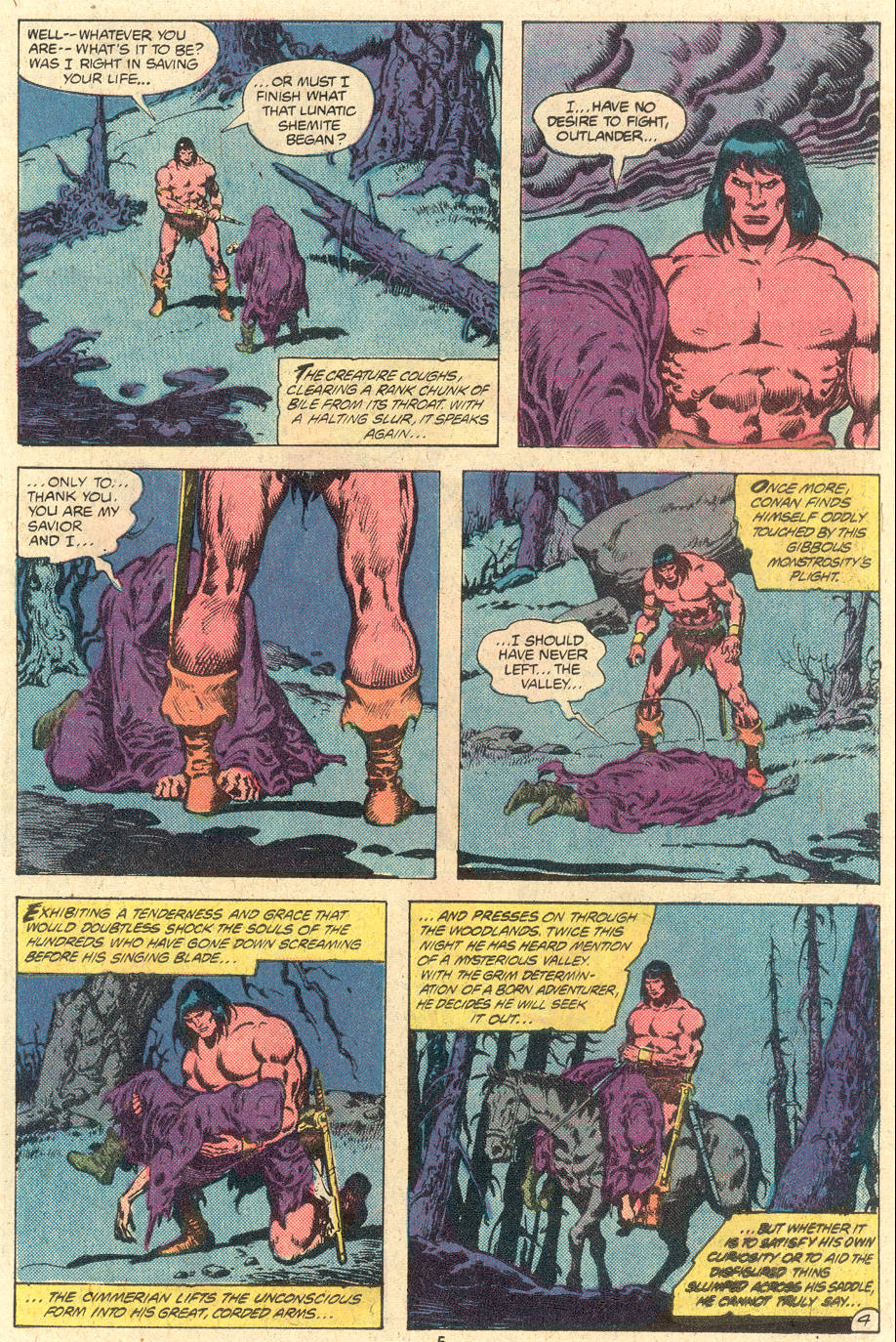 Conan the Barbarian (1970) Issue #118 #130 - English 5