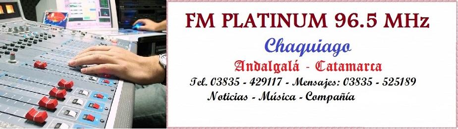 FM PLATINUM 96.5 MHz - ANDALGALA