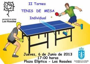 Inscripcin y bases Tenis de mesa