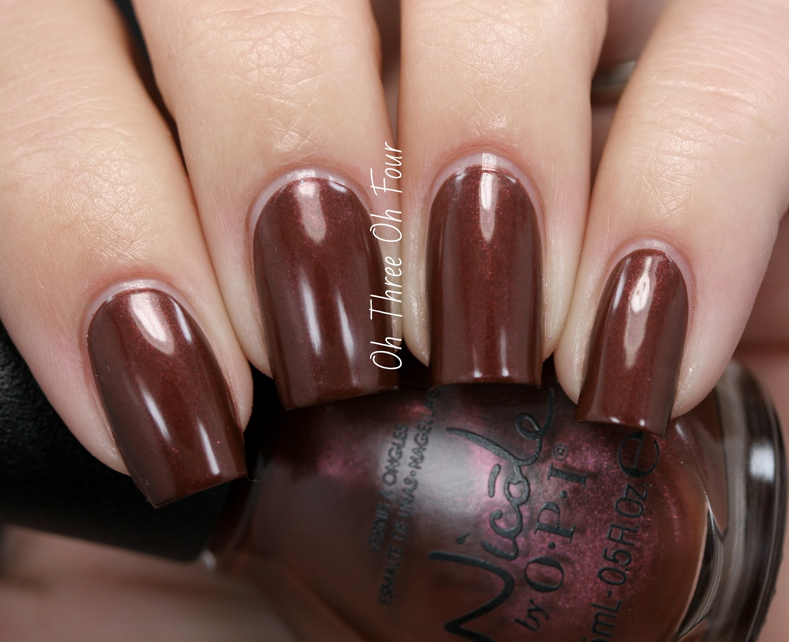 Nicole by OPI Better After Dark Swatch