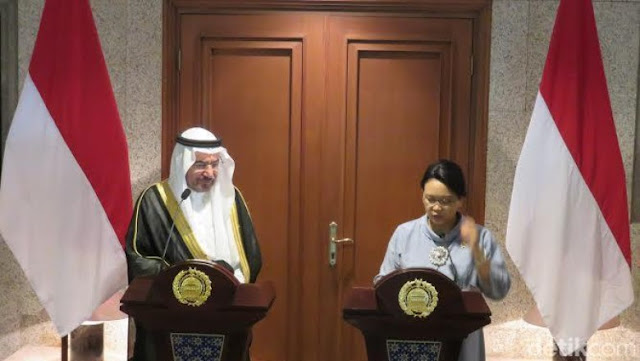 Mentri Luar Negeri RI Bawa Pesan Presiden untuk Arab Saudi dan Iran