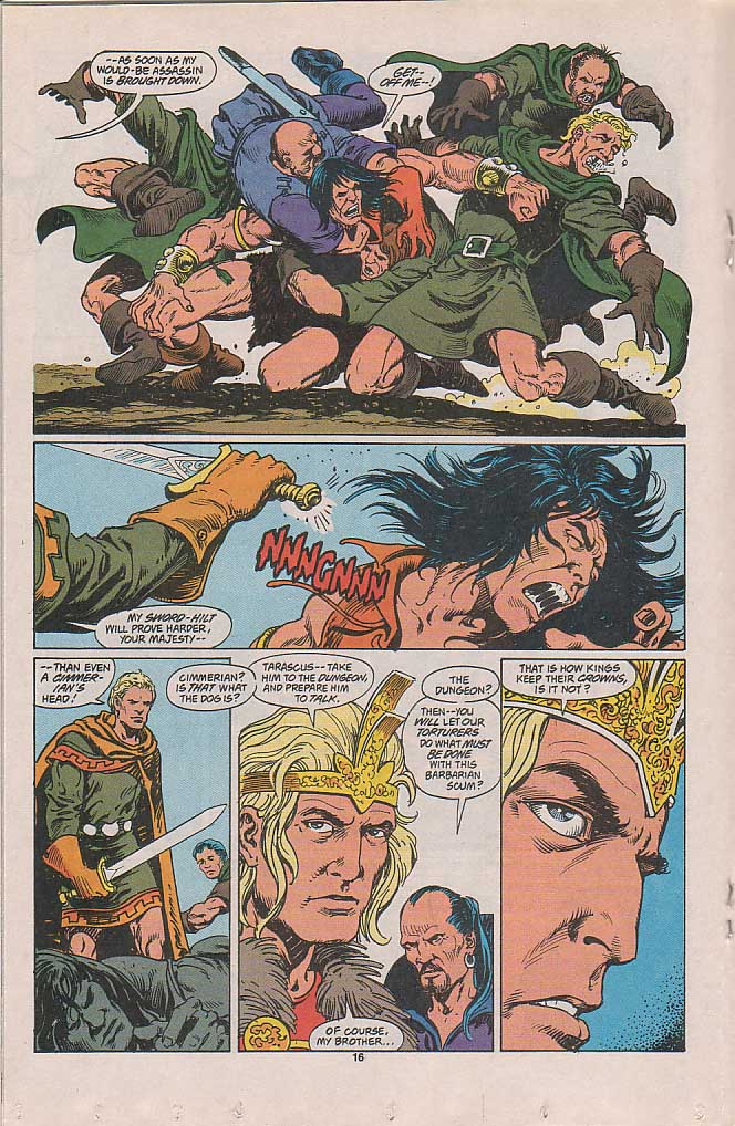 Conan the Barbarian (1970) Issue #257 #269 - English 12