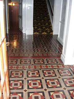 Victorian Floor Restored by Tile Doctor Customer