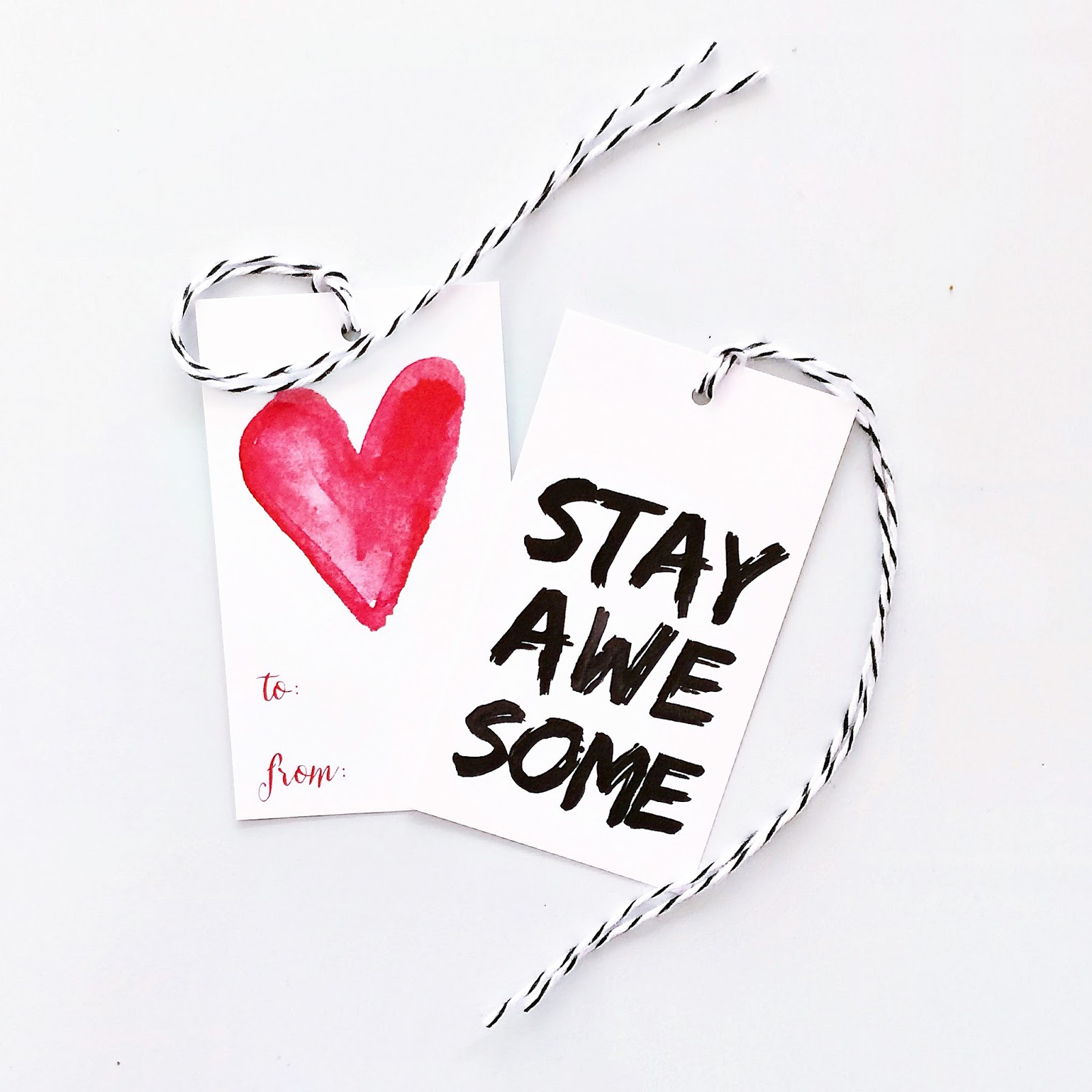 Stay Awesome tag