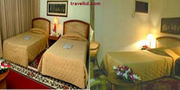Room rates of Hotel De Crystal Crown and Dhaka Garden Inn
