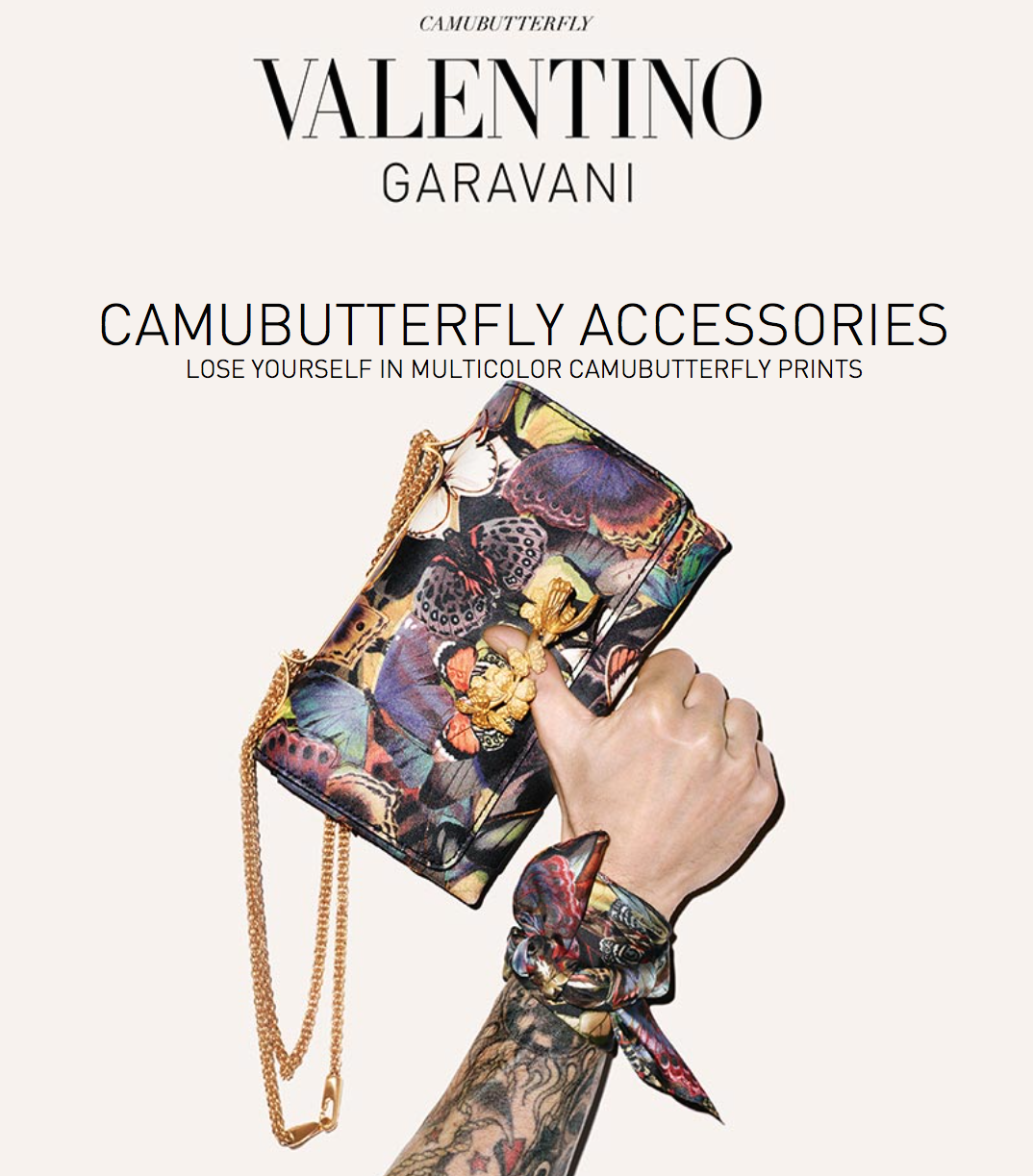 Valentino's CamuButterfly